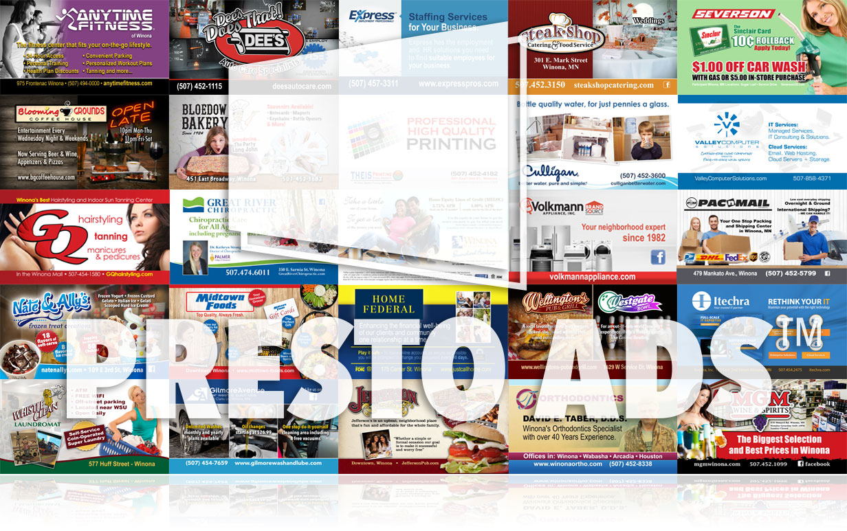 PRESTO DIGITAL ADS WINONA MN
